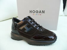 Hogan by Tod 's tods talla 30 schnürschuhe sneakers zapatos marrón nuevo PVP 149 €