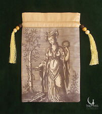 """Sibylla Delphica"" (Oracle of Delphi) - silk Tarot bag"