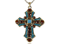Charm Antique Celtic Cross Crucifix Necklace Religouse Cross Pendant Accessories