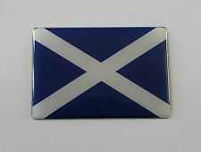SCOTLAND FLAG Sticker/Decal - WITH HIGH GLOSS DOMED GEL FINISH