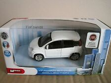 MONDO FIAT PANDA 2012-2017 in WHITE 1:43 MODEL CAR FIAT OFFICIAL PRODUCT