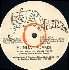 THE PRINCE OF DANCE - (Oohh Ohh Ah Ha) I Wanna Feel It!, Pres. Sunday Adams