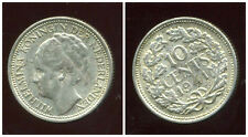 PAYS BAS  10 cents 1941 argent silver