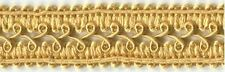 22mm Gold Gimp Braid (x 0.9 metres)