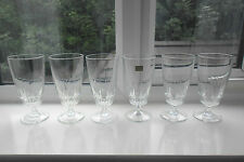 "VINTAGE LUMINARC FRANCE ""VICTORIA"" WATER GLASSES BOX OF 48 - WEDDING /TEA ROOM"