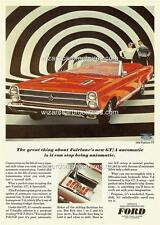 1966 FORD (USA) FAIRLANE GT/A A3 POSTER AD SALES BROCHURE ADVERTISEMENT ADVERT