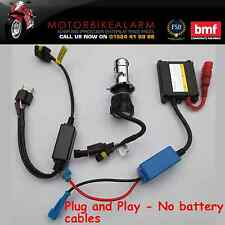 Plug and Play Motocicleta Moto Bike H4 Hid Bi Xenon Kit de Luz 6000K o 8000K