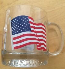 United States Of America Cups With A Pledge Allegiance To The Flag On The Side