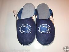 NCAA PSU Penn State Team Jersey Indoor/Outdoor Slippers ~ Size Large (11-12)