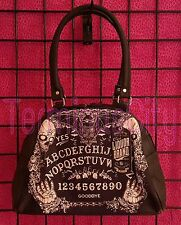 LIQUOR BRAND OUIJA BOARD BOWLING HANDBAG Purse Bag Vampire Bat Life Death Horror