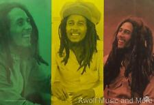 """BOB MARLEY Flag/ Tapestry/ Fabric Poster """"Rasta Collage""""  NEW"""