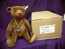"""Steiff mohair Teddy Bear ~ """"NANDO"""" ~ 30cm mint condition LE 243 / 1500 RUST"""