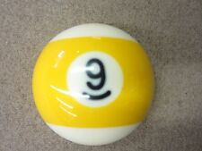 "9-Ball Pool Table Pocket Marker Full 2.25"" Size Ball- Pool Billiards"