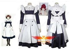 Anime Black Butler Kuroshitsuji Maylene Dress Cosplay Costume Custom Size