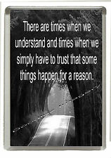 Inspirational &  Profound Thoughts - Fridge Magnet -  Jumbo Size  90mm x 60mm