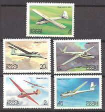 RUSSIA , 1983 , GLIDERS , SPORTS , SET OF 4 , PERF , MNH