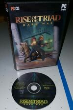 Rise of the Triad: Dark War (PC, 1994) Apogee CD-ROM FREE SHIPPING!