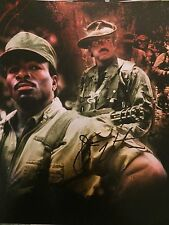 Jesse Ventura signed autographed 8x10 Predator photo carl weathers