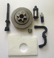 Kettenrad und Nadellager Luftfilter Benzinschlauch Set für Stihl MS 018 / 180