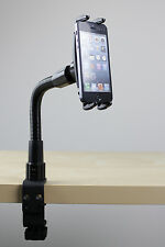 "12"" Flexible Table/Microphone/Light stand Mount for iPhone 5 4 4S Holder"
