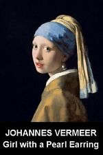 FINE ART  FRIDGE MAGNET - VERMEER - GIRL WITH PEARL EARRING