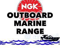 NEW NGK SPARK PLUG Marine Outboard Engine MARINER 30hp Marathon 698B