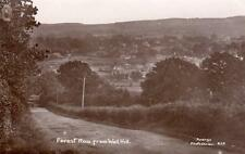 Forest Row from Wall Hill Nr East Grinstead RP old pc used Avery