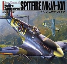 Merlin Spitfire (Aero-detail) Large book - 2000/5 Product Description Contents (