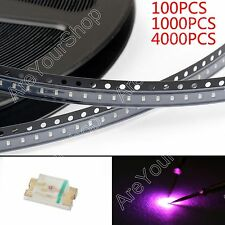 0603 SMD LED Red Green Blue Yellow White Orange Purple 7Colours Light Diodes  BS