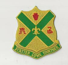US ARMY PATCH - 103RD CAVALRY REGIMENT