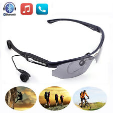 Wireless Bluetooth  Sunglasses Grey Glasses Headset Earphones For Android Apple
