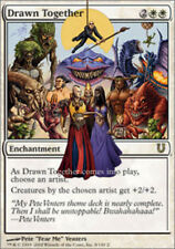 Drawn Together X4 (Unhinged) MTG (NM) *CCGHouse* Magic