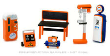 GREENLIGHT GULF OIL GL MUSCLE SHOP TOOLS 6-PIECE SET LIMITED EDITION PRE-ORDER