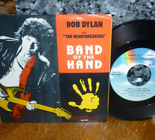 "* * BOB DYLAN & TOM PETTY/HEARTBREAKERS: ""BAND OF THE HAND"" CLEAN M- 45/PIC SLV!"