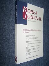 Korea Journal, Volume 41, Winter 2001, Remaking of Modern Family in Korea