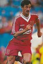 Football Photo IAN RUSH Liverpool 1995-96