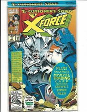 X-FORCE # 17 (X-CUTIONER'S SONG Part 8 Sealed with Trading Card, DEC 1992), NM