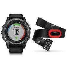 fenix 3 HR Gray with Black Brand Performer Bundle Wrist Heart Rate 010-01338-73