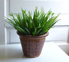 8 Lifelike Orchid Grasses Artificial Plants Plastic Leaf Home Wedding Landscape