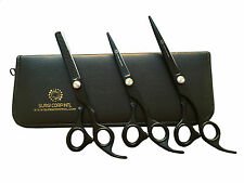 Professional Hairdressing Barber Salon Hair Cutting Thinning Three Scissors Set