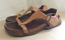 Tan Robust Leather Sandals By TIMBERLAND . Size 5.5 UK 7.5 US.