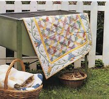 Pineapple Picnic Quilt Pattern Pieced/Paper Pieced/Applique JF