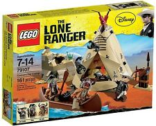 LEGO 79107 THE LONE RANGER COMANCHE CAMP ** ** Gran Regalo