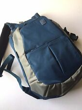 Tumi Tracer Prince Computer Backpack Laptop Rucksack Blue Gray T-Tech Nylon NWT