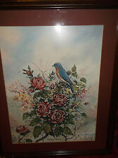 """FRED THRASHER KENTUCKY ARTIST """"EASTERN BEAUTY"""" SIGNED, DATED"""