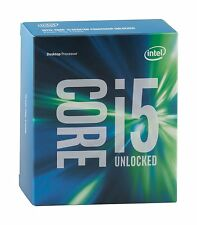 Intel Core i5-6600K Processor 3.5GHz 6MB Cache LGA1151 Boxed Without Heatsink an