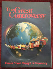 The Great Controversy Ellen G White 1990 Family Heritage Books PB Globe & Flags