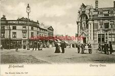 PRINTED POSTCARD OF CHARING CROSS, BIRKENHEAD, CHESHIRE BY WRENCH