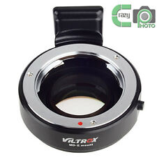 Minolta MD Lens  to Sony NEX 7 A6300 Focal Reducer Speed Booster Adapter MD-E