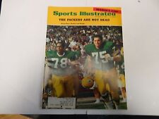 1968 Sports Illustrated Green Bay's Brown and Gregg Cover October 28th